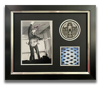 PETE TOWNSHEND HAND SIGNED FRAMED CD DISPLAY - THE WHO - TOMMY.