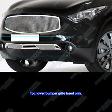 Fits 2009-2010 Infiniti FX35/FX50 Bumper Stainless Mesh Grille
