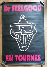 Dr FEELGOOD – AFFICHE ORIGINALE DE TOURNÉE – TRÈS RARE – 1976