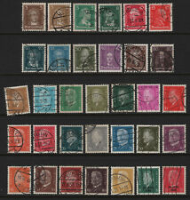 OPC 1926-30 Germany Complete Sets of 21 Sc#351-362 366-386 Used 28380