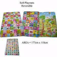 177 x 118cm 2 lato ragazzi che strisciano gioco educativo Baby Play Mat Tappeto Morbida Schiuma