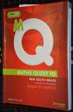 2014 Maths Quest 10. Stage 5.1 & 5.2 AS NEW Edition. For AUSTRALIAN Curriculum