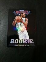 2012-13 Panini Marquee Kawhi Leonard Basketball Rookie Card Refractor