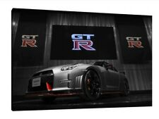 NISMO Nissan GTR 30x20 Inch Canvas - JDM Framed Picture Poster Supercar
