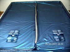 2 x Wasserbettmatratze Wasserkern Dual + Auslaufschutzfolie + Thermotrennfolie
