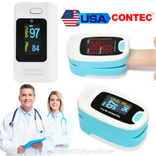 Pulse Oximeter Fingertip Spo2 Blood Oxygen Meter Heart Rate O2 Patient Monitor