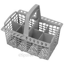 WHIRLPOOL Genuine Dishwasher Grey Cutlery Basket 8 Compartment C00094297 Spare
