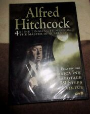 Sealed New Alfred Hitchcock DVD Jamaica Inn, Sabotage total of 5 hours*