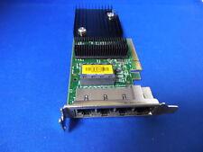 SUN QuadPort Gigabit 32 Address PCI-E NIC Card 501-7606-06 / Low Profile