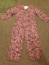 NEW Next pink patterned jumpsuit age 2-3 years