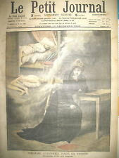 JUSTICE PRISON AFFAIRE STEINHEIL ASSASSINAT LE PETIT JOURNAL 1908