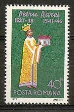 ROMANIA 1977 PAINTING PETRU RARES SC # 2726 MNH