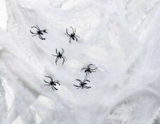 5 Servietten Spinnen NETZ Serviettentechnik Motivservietten spider weiß schwarz