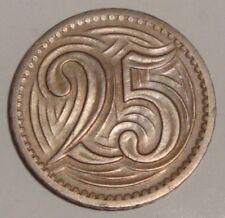 Czechoslovakia 25 Haler / 1933 / - VG