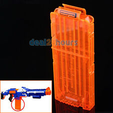 1pc 12 Dart Quick Reload Clip System Darts for Toy Gun Nerf N-Strike Blaster