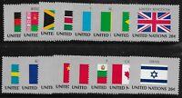 UN Scott #NY 399-414, Singles 1983 Complete Set FVF MNH