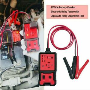 12V Universal Electronic Automotive Relay Tester For Car Auto Battery Checker UK