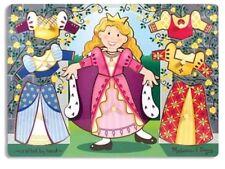 Melissa & Doug Princess Dress-Up Mix n Match Peg Puzzle New Fine Motor