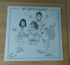 The Who By Numbers 2015 European LP New Sealed Classic Rock Vinyl