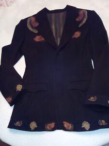 COMME DES GARCONS magnifique veste MATSUDApure laine 40 42