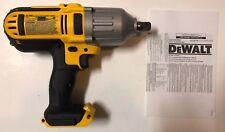 "Nuevo DEWALT DCF889 20V 20 Volt Max Li-Ion 1/2"" Llave de impacto con retén de Pin"