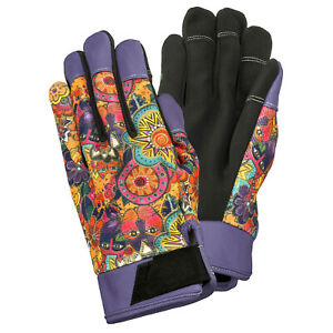 Laurel Burch Garden Work Gloves Felines in the Garden