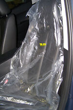 Plastic seat covers/protection/wrap/disposable