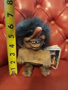 NyForm Troll #186 Long Nose Shaggy Hair , hand made Norway