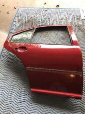 vw mk4 OEM 2004-05 Jetta sedan rear door (R) in Spice Red LA3W code - USED AS-IS