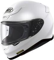 SHOEI RF-1200 FULL FACE MOTORCYCLE HELMET WHITE LARGE LG 0109-0109-06