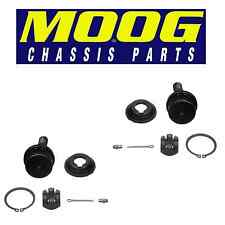 For Ford E-150 Pair Set of 2 Front Lower Press-in Type Ball Joints Moog K8611T