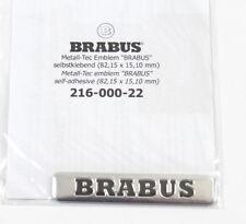 1x Seitenemblem Emblem Sticker Aufkleber Seitenbeschriftung Brabus 82,15 x15,10