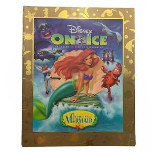 Disney On Ice The Little Mermaid Program Vintage 1998