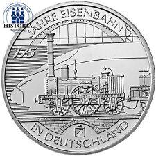 Stempelglanz Münzen der BRD in Euro-Währung aus Silber