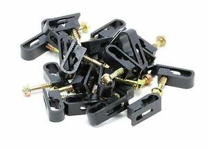 Steren Coaxial Cable Clips - Cable Holder - Wire Clips, Organizers - 100 Pack