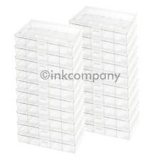 20x 6er Sortierkasten / Sortierkästen / Sortierbox transparent NEU