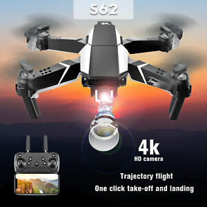 S62 FPV  RC  with 4K Camera Foldable Quadcopter Photo Video Toy fr D0Q2