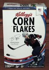 2017 LE KELLOGG'S CORN FLAKES MEGHAN DUGGAN ICE HOCKEY 12 oz EMPTY CEREAL BOX
