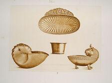 Gold-Schmied Silber Handwerk Becher goldsmith Muschel Nautilus orafo Ziseleur