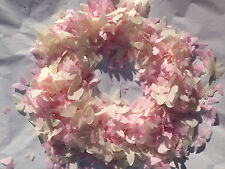 Ivory & Pink Biodegradable Butterfly Weddings Confetti 5 Small Handfuls
