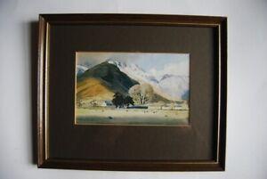 W. Heaton Cooper studio print 'Wallend Farm, Langdale, 1962. framed