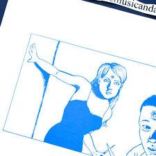 ORIGINAL 1980 RAYMOND PETTIBON ART COVER VINYL LP BLACK FLAG MINUTEMEN RARE