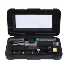 10 in 1 Butane Gas Soldering Iron Kit Professional Welding Torch Set Cordless