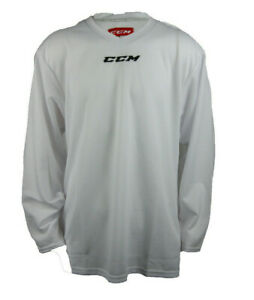 CCM Hockey Senior/Adult White 5000 Practice Jersey
