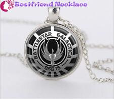 Battlestar Galactica silver movie necklace for women men Jewelry#T25