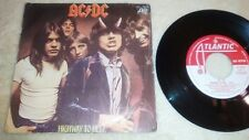"""AC/DC Highway to hell / Night prowler 7"""" Spanish SINGLE"""