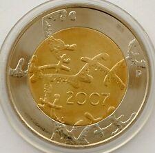 FINLAND 5 EURO 2005 ATHLETICS WORLD CHAMPIONSHIP BI-METALLIC COIN