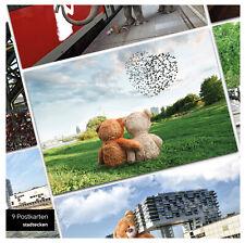 stadtecken® Postkarten 9-Set DIN A6 KÖLN Ansichtskarten Postcrossing Geschenk