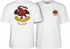 Powell Peralta Steve Caballero RED DRAGON II Skateboard Shirt WHITE XXL