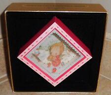 "Vintage""Betsey Clark'S Christmas"" Hallmark Square Shadowbox Dated Ornament 1980"